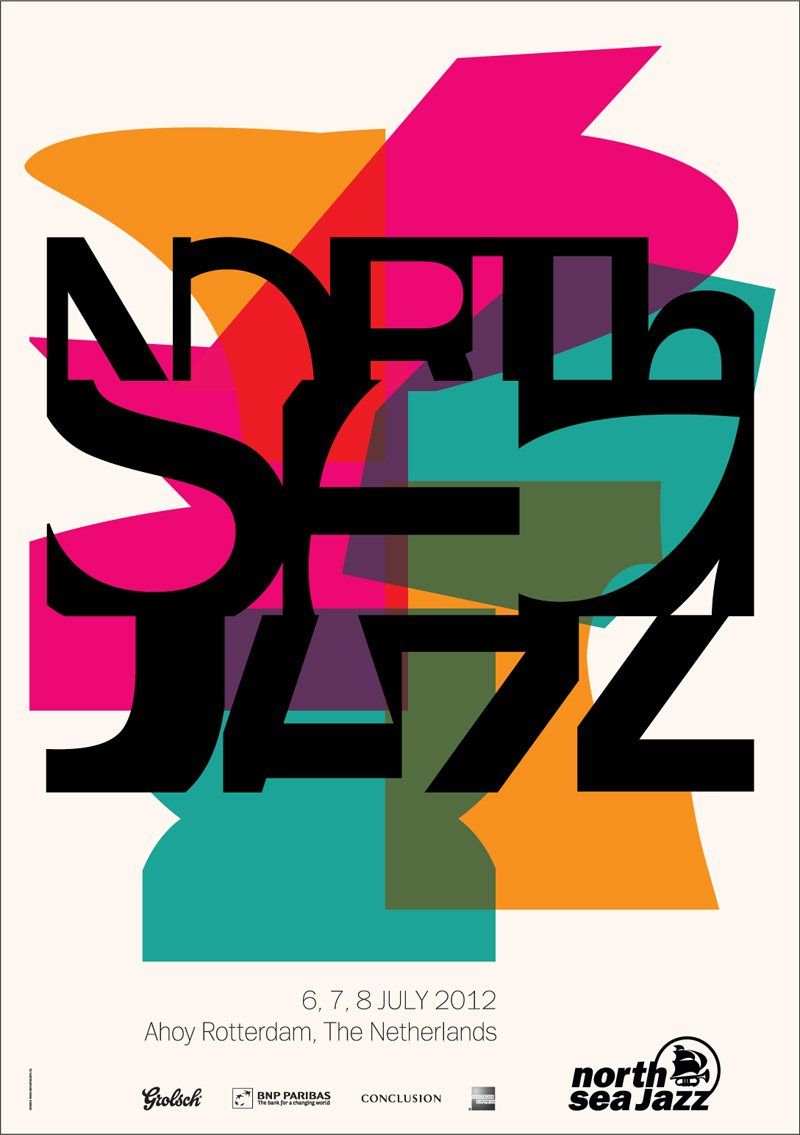 North Sea Jazz Art Poster