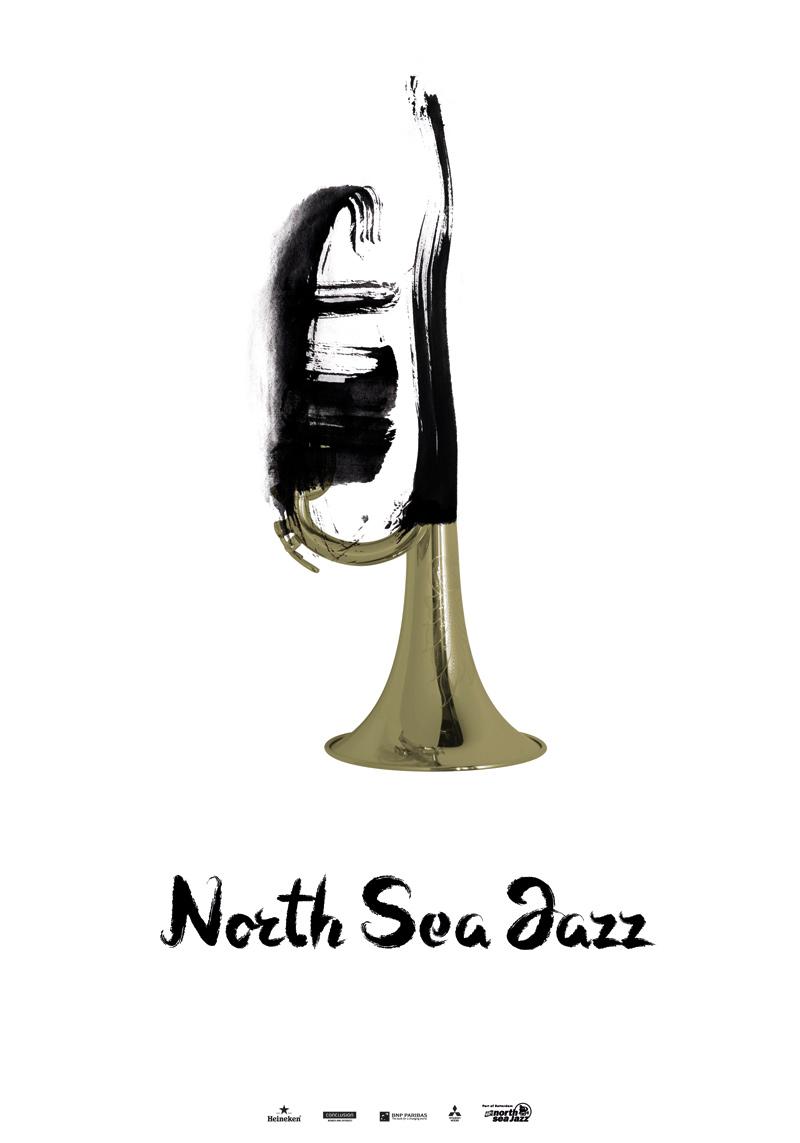 North Sea Jazz Art Poster NN Festival