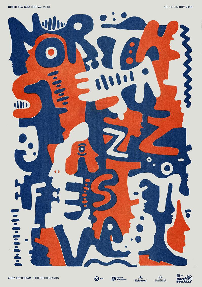 North Sea Jazz Art Poster | NN North Sea Jazz Festival